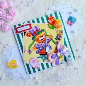 Детские пригласительные и открытки