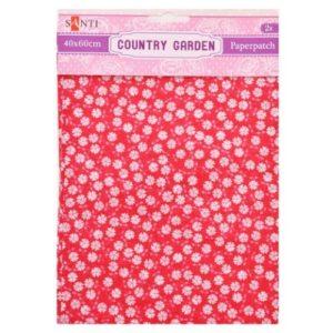 Бумага для декупажа, Country garden, 2 листа, 40*60 см, 952507