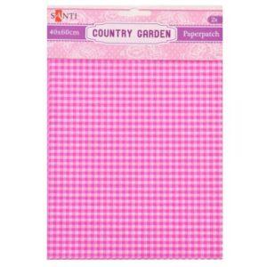 Бумага для декупажа, Country garden, 2 листа, 40*60 см, 952509