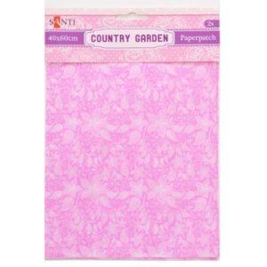 Бумага для декупажа, Country garden, 2 листа, 40*60 см, 952515