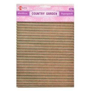 Бумага для декупажа, Country garden, 2 листа, 40*60 см, 952519
