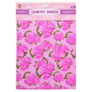 Бумага для декупажа, Country garden, 40*60 см, 952517