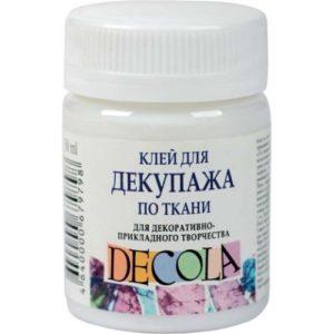 Клей для декупажа по ткани Decola, 50 мл.