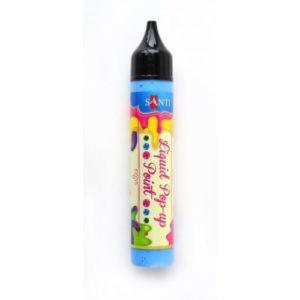 """ЗD-гель """"Liquid pop-up gel"""", светло-синий."""