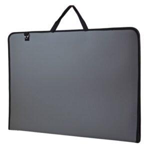 """Папка-портфель SANTI для эскизов А2, """"Prestige"""", 450*39*715 мм, серая."""