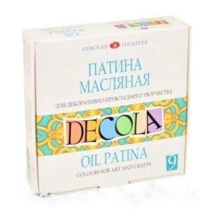 """Набор масляных красок """"Decola"""", патина."""