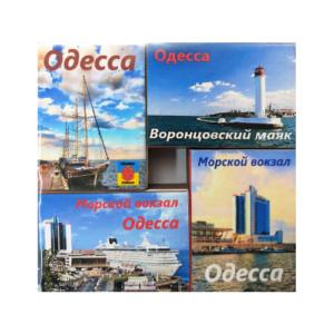 Спички магниты, набор № 001 «Одесса Mix 1», 4 шт.