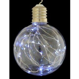 Электрогирлянда новогодняя шар с LED-нитью