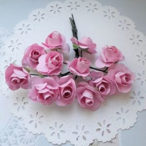 Цветочки для скрапбукинга.