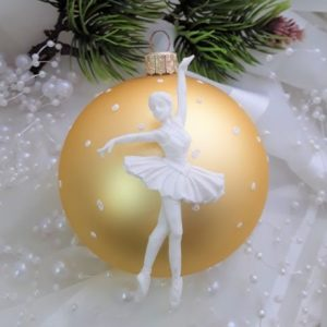 Балерина №1, гибкая, 7,6*4 см.
