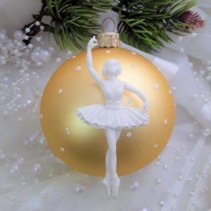 Балерина №2, гибкая, 7,6*3,5 см.