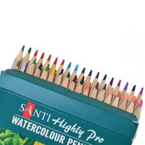 """Набор акварельных карандашей """"Santi Highly Pro"""", 36 штуки."""
