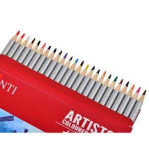"""Набор художественных цветных карандашей """"Santi Highly Pro"""", 24 шт."""