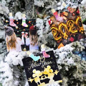 """Набор прищепок деревянных Santi декоративных """"Winter holidays""""."""