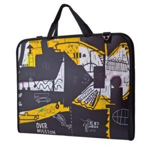 """Папка-портфель SANTI для эскизов А3, """"Graffiti"""", 367*495*30 мм."""