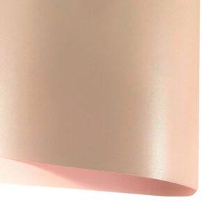 Картон перламутр розовый пудровый.