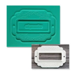 Молд силиконовый Рамка для записей.