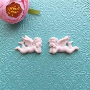 Ангелы гибкие, пара, 2,5*4 см.