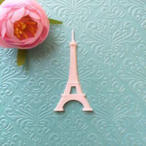 Эйфелева башня, гибкая, 3,3*6,7 см.