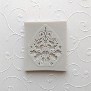 Молд силиконовый Дамасский узор, 6*50*,5 см.