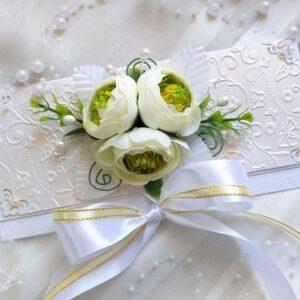 Авторский свадебный конверт для денег.