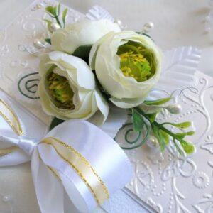 Авторский свадебный конверт для денежного подарка.