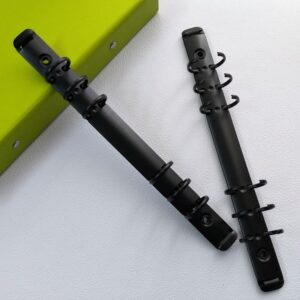 Кольцевой механизм А5 на 6 колец, черный матовый.