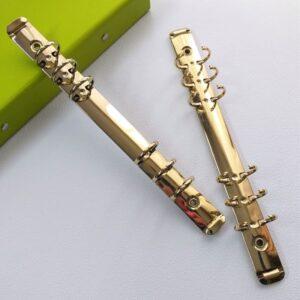 Кольцевой механизм А5 на 6 колец, золотой.