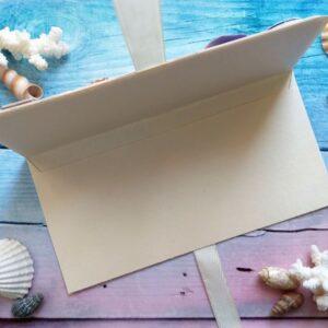 Конверт для денег в морском стиле