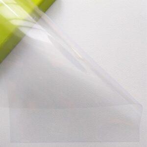 Разделительный лист PVC, прозрачный, 21*29,7 см, 150 мм.