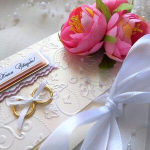 Свадебный конверт для денег.