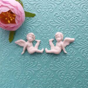 Ангелы гибкие, пара, 3*4 см.