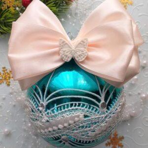 Гибкое украшение Бабочка для бантика.
