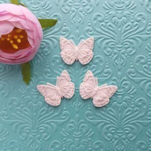 Набор Бабочки, 3 шт., 2*2,5 см.