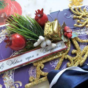 Подарочный конверт к Новому году.